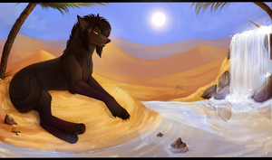 Golden Lands by Ronkeyroo