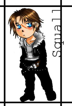 FF8 - Chibi Squall goodness by MetalChocobo