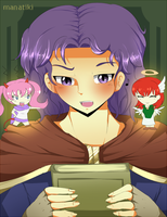 SS: Erk, the annoyed mage by manatiki