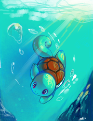 Squirtle by KoriArredondo