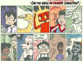 10 Characters Meme by chasmosaur