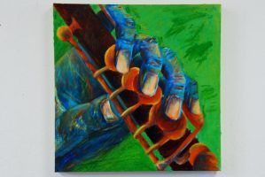 Hand and Flute by stephie00180