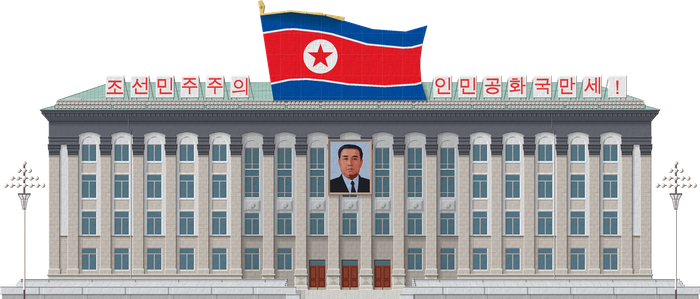 Headquarters of Workers Party of Korea by Herbertrocha