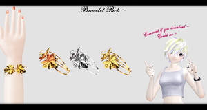 [MMD] Bracelet Pack DL ~ by o-DSV-o