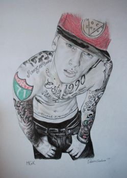 Machine Gun Kelly by IAmPencilFingerz