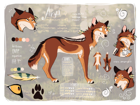 Arya Reference 2018 by catnoodlesx