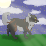 Moonlight is blinding (AT) by KrystalRaccoon2002