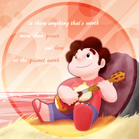 Steven Universe - Peace and Love by DragonwolfRooke