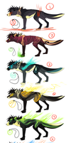 RARE Demon Shapeshifter adopts! by Rinermai