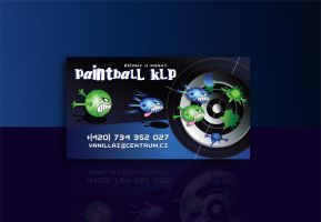 Paintball KLP-business card by R1Design