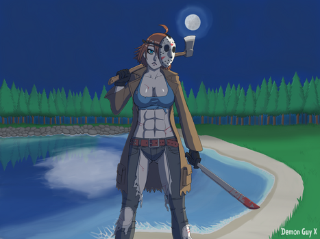 Jason In The Moonlight by DemonGuyX