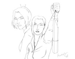 Evolution of Trust AlterVerse Character Sketch by GreenGosselin