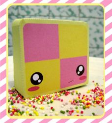 Battenburg Papercraft by kickass-peanut