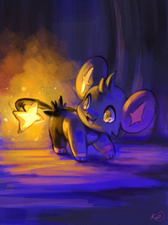 Shinx used flash by KoriArredondo