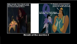 Kronk at the movies 2 by Averagejoeguy2