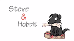 Steve and Hobbit by Cobra-Roll