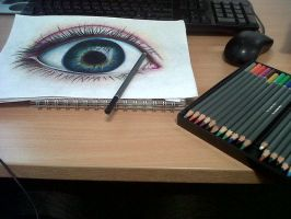 Eye Progression by daniellekenyon