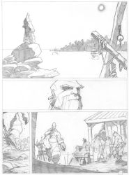 Rush Hunters page sample final by PatBoutin