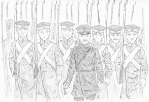 Crimean War -- The Tsar's Infantry by CapturedJoe