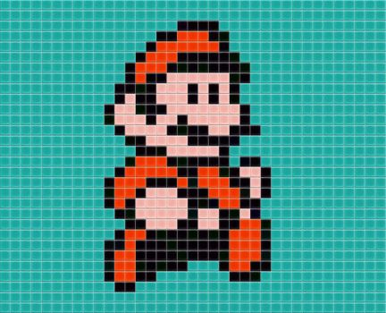 Mario Tiled by drsparc