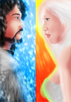 Fire and Ice by zenlang
