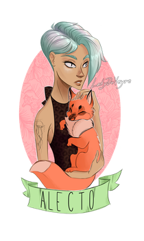 Alecto by LadyDeVeyre