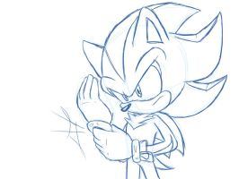 Old Shadow doodle - the rings are comin off by DanielasDoodles