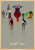 Spider-Man 8-bit by capdevil13
