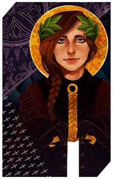 Commission: Laurel tarot by RedlyJester