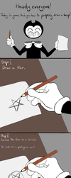 How to properly draw a sheep (Tutorial by Bendy) by CzalCzalMemlak