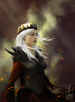 Fire and Blood by LudvikSKP