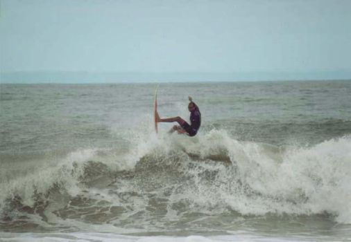 Surfers at Ubatuba-Sao Paulo 2 by Vedder-Tm