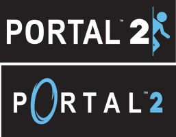 Portal 2 Logo by CartmanPT