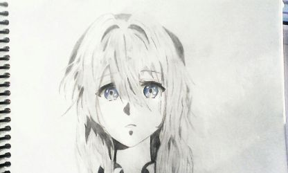 Violet Evergarden by PikaPumba