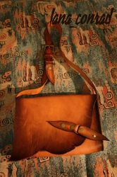 leather bag by LanaConrad