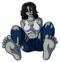 Hulked Out Soles by AraghenXD