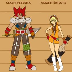 CLASH and ALIZETI by WadeVezecha