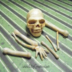 Miniature Skull and Bones by DFLY847
