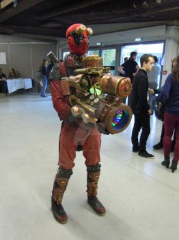 Deadpool Steampunk by castor227027