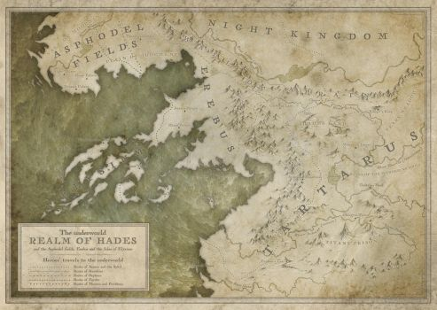 The Realm of Hades by MaximePLASSE