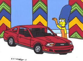 Mustang on the Price is Right by DJgames