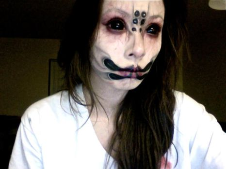 Spider Queen Makeup by samoyed16