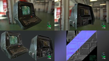 PC Terminal - Prop Model Replica by SASteinhebel