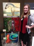First College art show! by AbbyCatWolff