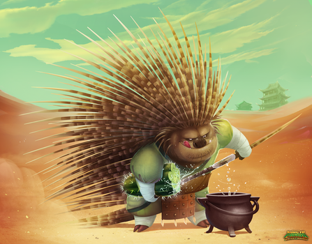 KFP : Battle of Destiny / Porcupine by Phil-G-Ramsay