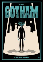 Gotham Poster Vector by funky23
