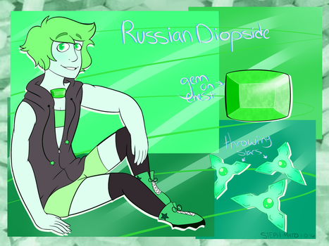 Russian Diopside Ref by STEPHAN0-MAT0