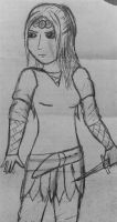 Sofie: Continuing The Legacy (sketch) by Javott