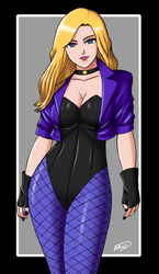 Black Canary by XenonVincentLegend