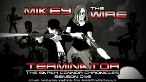 The Sarah Connor Chronicles Title Card by devillo